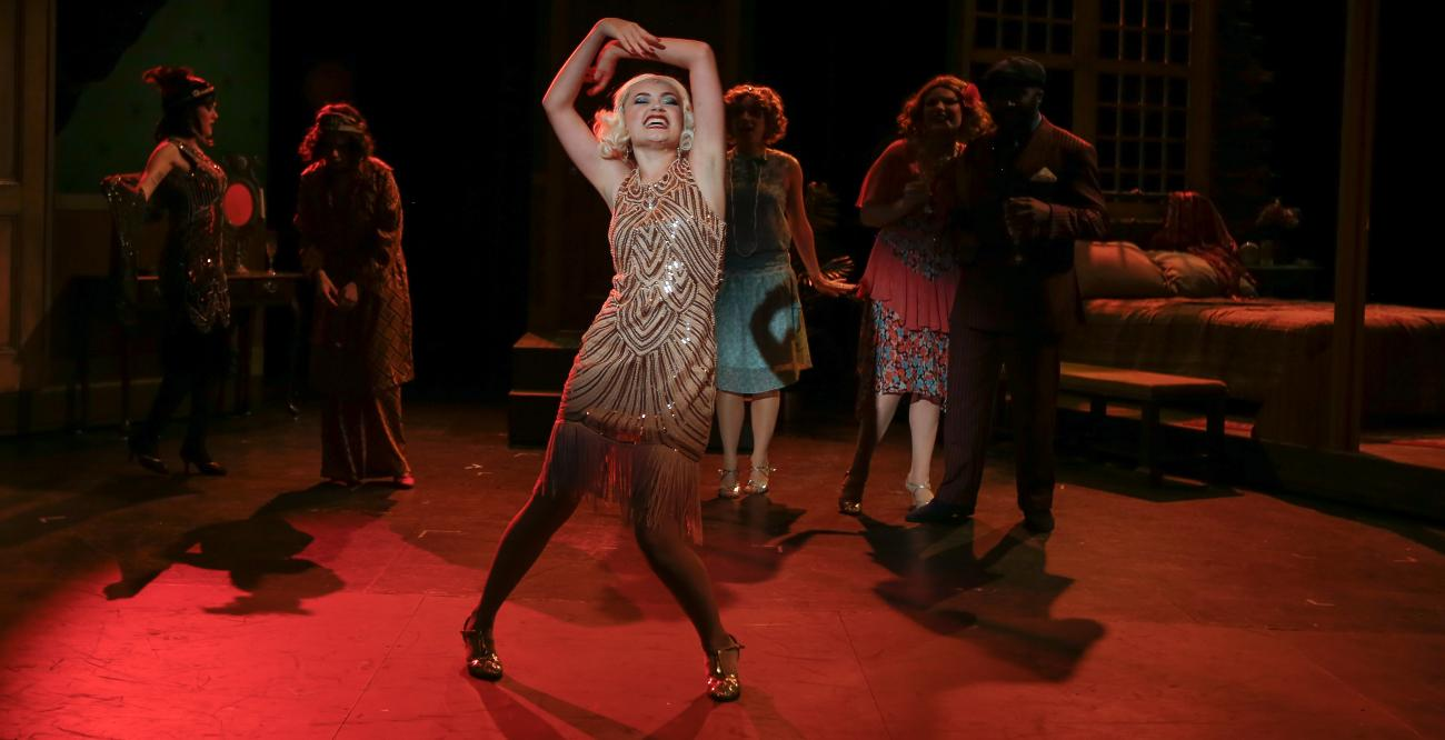 "A picture of Georgiana Summers '20 (Musical Theater) in ""The Wild Party"""