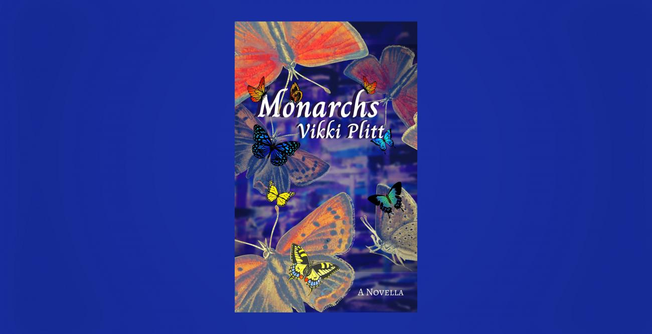 Monarch butterflies illustrated